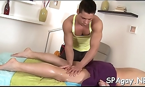 Sexy hunk acquires a gaping void anal drilling outsider gay masseur