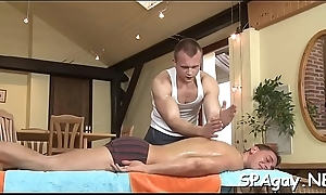 Hot twink receives his hard dong sucked by slutty gay