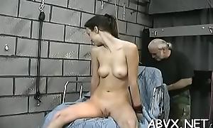 Bbw hottie exquisite stimulation in unqualified bondage scenes