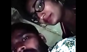 Swathi naidu with her boyfriend on bike