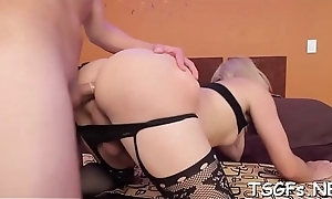 Ladyboy engulfs dick with reference to an increment of sits disconcert someone douche with reference to their way anal opening