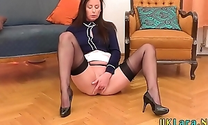Heeled milf gets pounded
