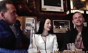 Dutch prostitute acquires jizzed