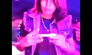 Swathi naidu enjoying in pub part-1