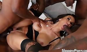 Lisa Ann interracial bang