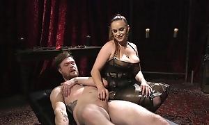 Filial bloke gets anally fucked by horny mistress
