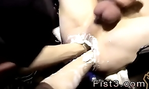 paravent for gay guys fisting themselves and man make the beast with two backs boy Testing the