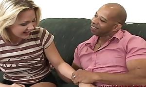 Dirty daughter Katarina Kat takes beamy black cock