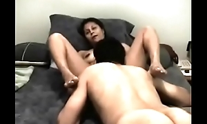 Engulfing wife'_s bawdy cleft till she cums