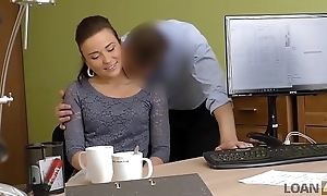LOAN4K. Frances receives a pocket money thanks to her beauty and sex skills
